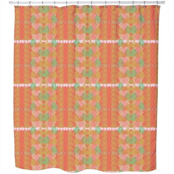 Nursery Garden of The Indians Shower Curtain