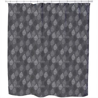 Nuance in Grey Shower Curtain