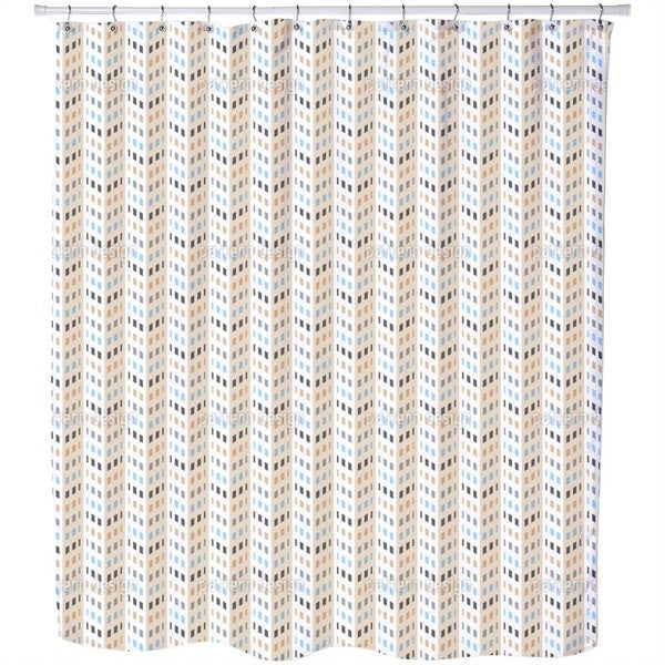 High Rise Chevron Shower Curtain