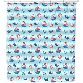 Nautical Parade Shower Curtain