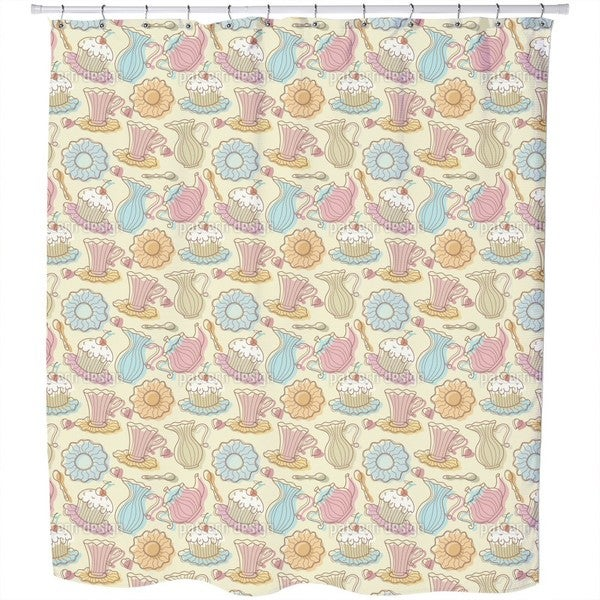 Hens Party Shower Curtain