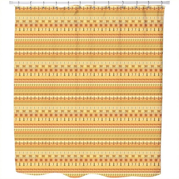 Hello Africa Shower Curtain