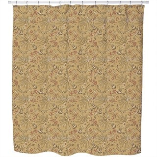 Natashas Desert Garden Shower Curtain