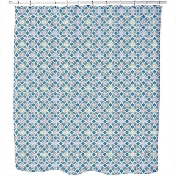 Mystical Rings Shower Curtain