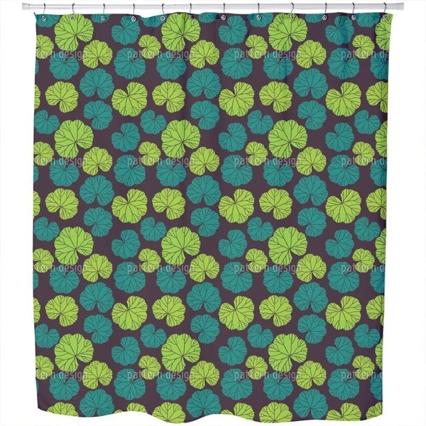 Ladys Mantle Shower Curtain