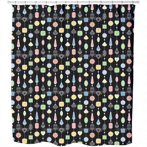 Jewelry Curtain Shower Curtain