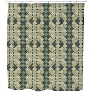 Jersey Squares Shower Curtain