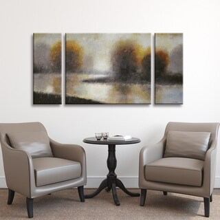 Ready2HangArt Norman Wyatt Jr. 'Bailey's Creek I/II/III' 3-piece Wrapped Canvas Art Set