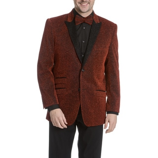 After Midnight Men's Glitter Tuxedo Jacket 2-piece Set