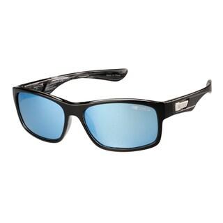 NASCAR Polar Sunglasses Unisex 6 Black Blue Crystal