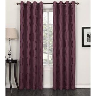 Sun Zero Aubry Blackout Grommet Curtain Panel