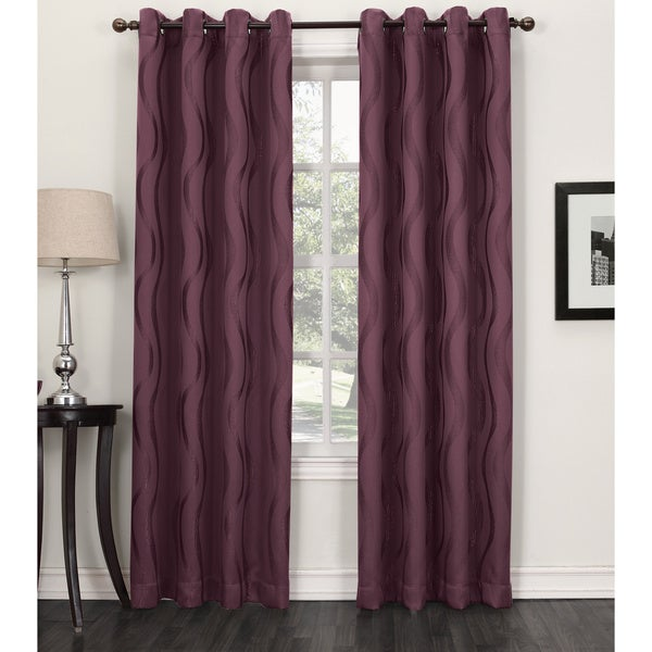 purple and white curtains sun zero aubry blackout grommet curtain panel free 4450