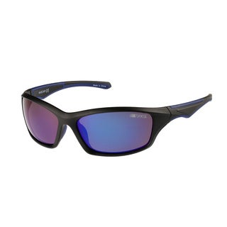 NASCAR Lady 8 Matte Black Mirror Lens Sunglasses