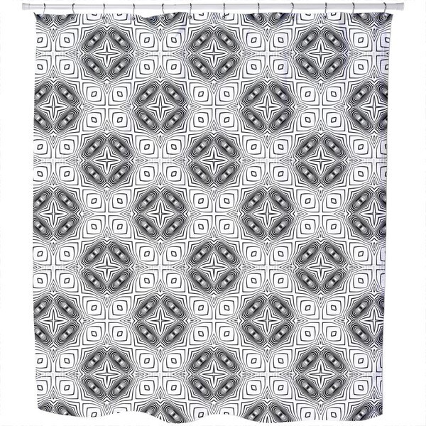 In The Kaleidoscope Shower Curtain