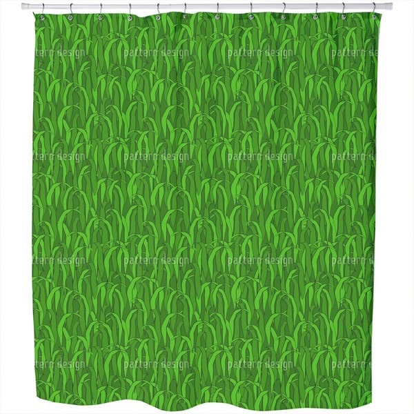 In The Green Grass Shower Curtain