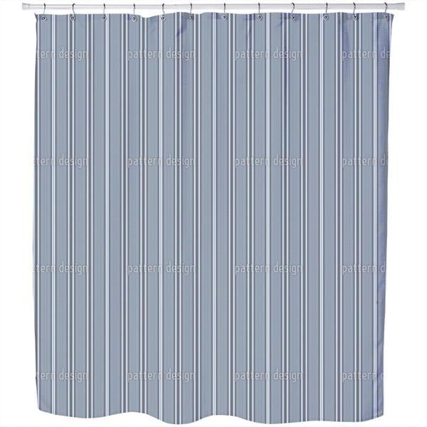 Gentlemen in Stripes Shower Curtain