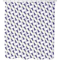 Gentian Shaded Shower Curtain