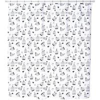 Free Birdie Shower Curtain