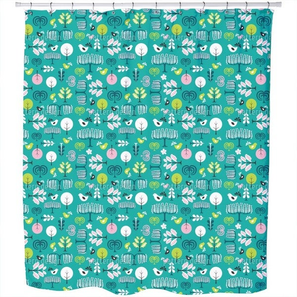 Forest Glade Shower Curtain