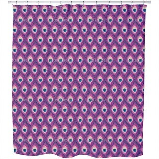 Peacock Queen Shower Curtain