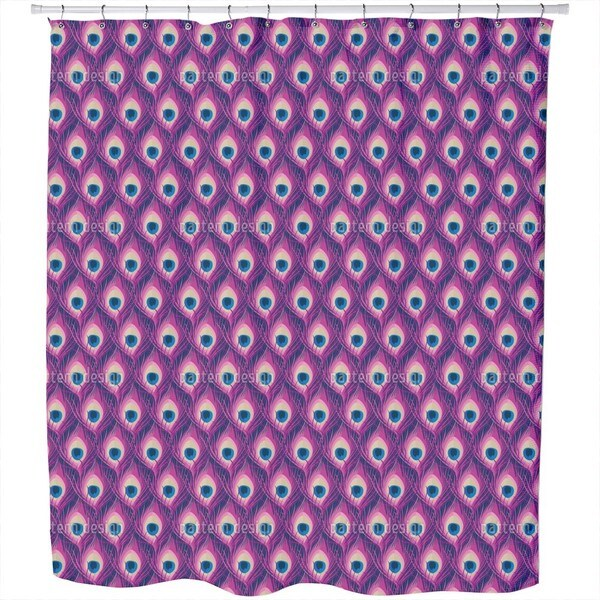 Peacock Queen Shower Curtain