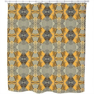 Patchwork Safari Shower Curtain