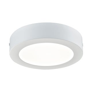 Alico Ringo Medium 1-light Round LED Flush Mount in Matte White