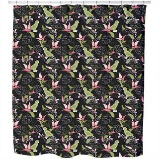 Paradise Birds Shower Curtain