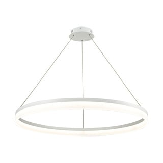 Alico Cycloid Large 1-light LED Pendant in Matte White with Acrylic Diffuser