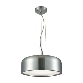 Alico Kore 1-light LED Pendant in Aluminum with Acrylic Diffuser
