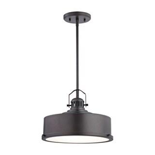 Alico Rexford 1-light LED Pendant in Oiled Bronze