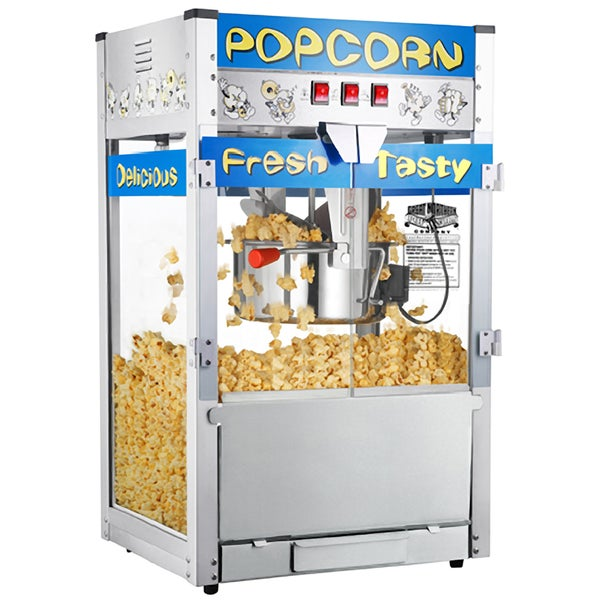 Great Northern Pop Heaven Popcorn Popper Machine (12 oz.)