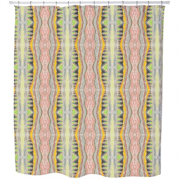 Massai Color Shower Curtain