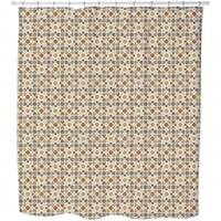 Morocco Brown Shower Curtain