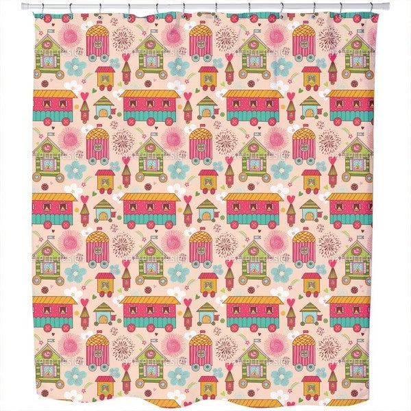 Mobile Homes Shower Curtain