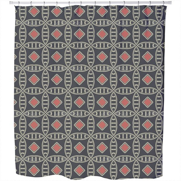 Mister Grey Shower Curtain