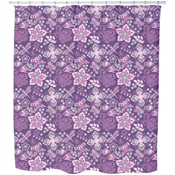 Melancholy of Nature Shower Curtain