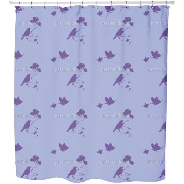 Meadow Romance Shower Curtain