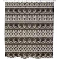 Maya Ikat Shower Curtain