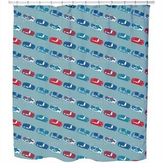Matchbox Cars Shower Curtain