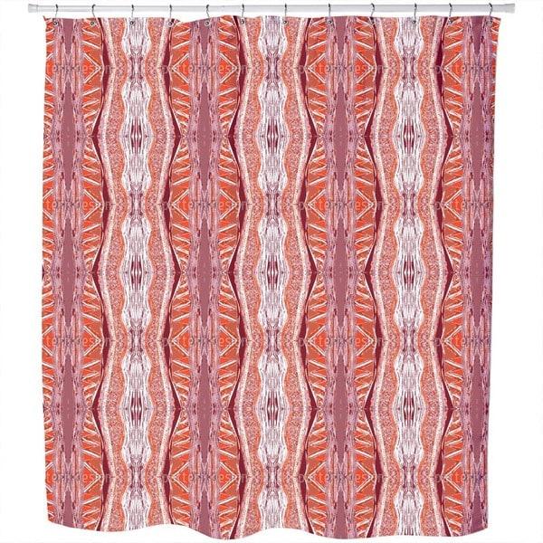 Massai Red Shower Curtain