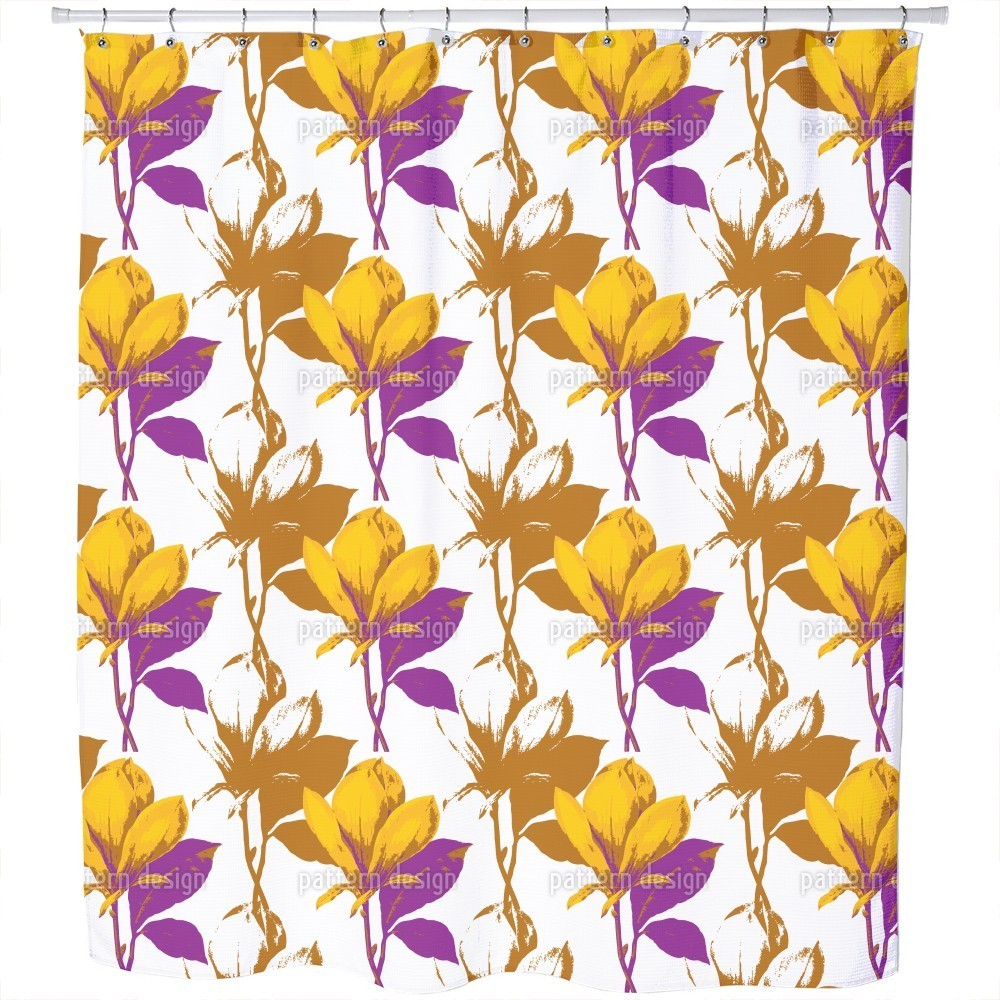 Uneekee Magnolia Dream Shower Curtain (Extra Long (70 inc...