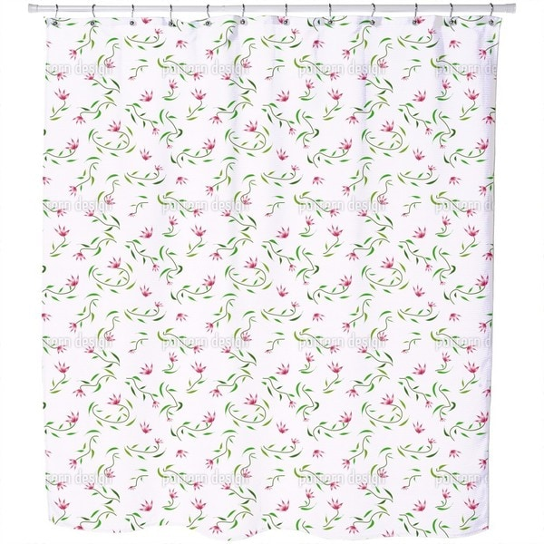 Magic Spring Shower Curtain
