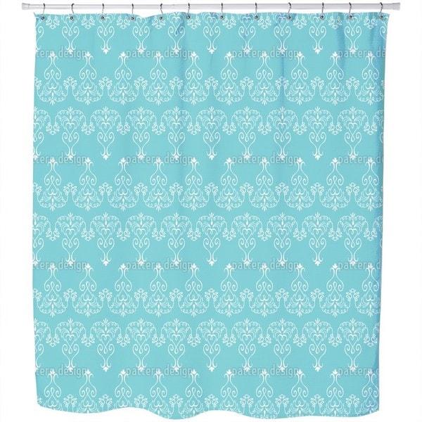Madame Pompadour Shower Curtain