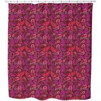 Lovely Paisley Shower Curtain