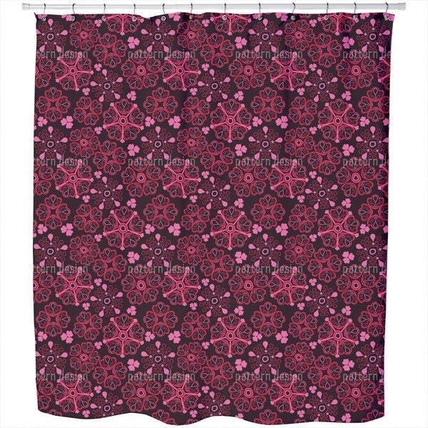 Love For Flowers Shower Curtain