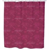 Love Actually Red Shower Curtain