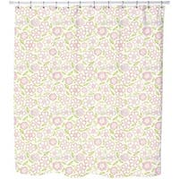 Little Flower Rain Shower Curtain