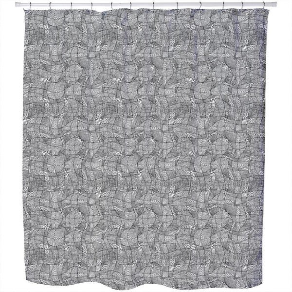 Lines Move Shower Curtain
