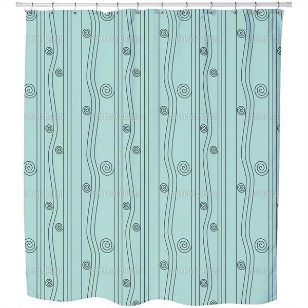 Ligne Nouveau Shower Curtain